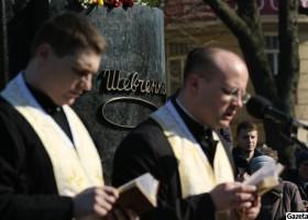 Військові капелани Гарнізонного храму Свв. Ап. Петра і Павла відслужили молебень за майбутню долю України