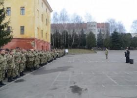 Свята Літургія з солдатами Військової служби правопорядку